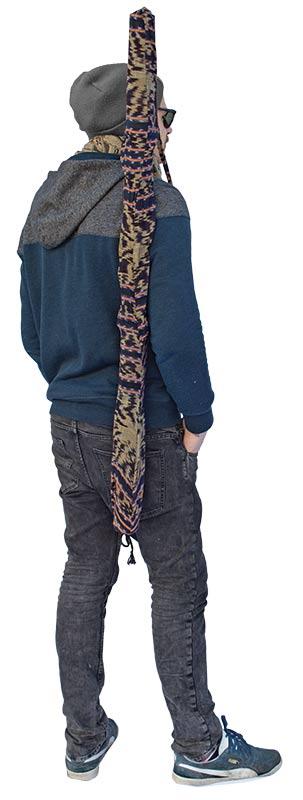 Terre Didge/Rainmakertasche Ikat 100cm