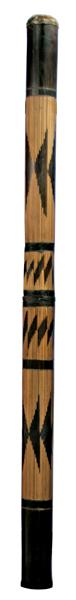 Terre Didgeridoo Bambus geschnitzt