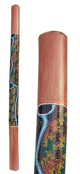 Terre Didgeridoo Bambus bemalt