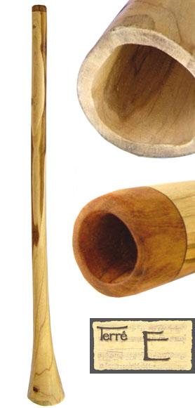 Terre Didgeridoo Teak E