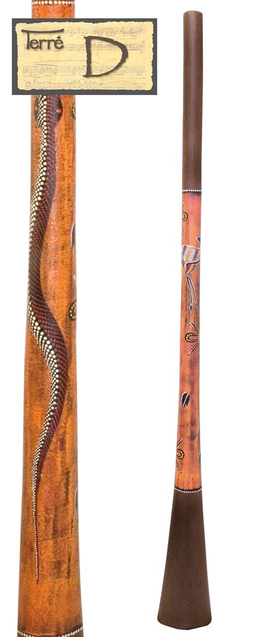 Terre Baked wood Didgeridoo D