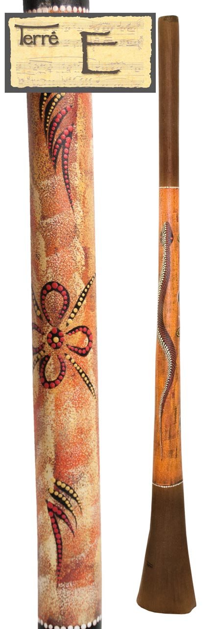 Terre Baked wood Didgeridoo E