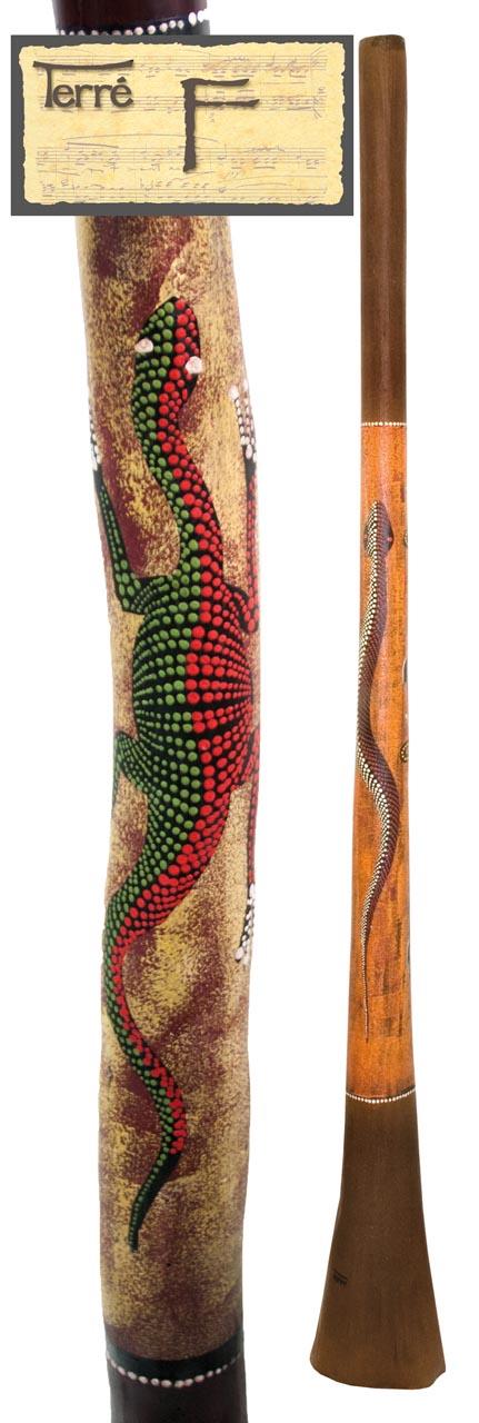 Terre Baked wood Didgeridoo F