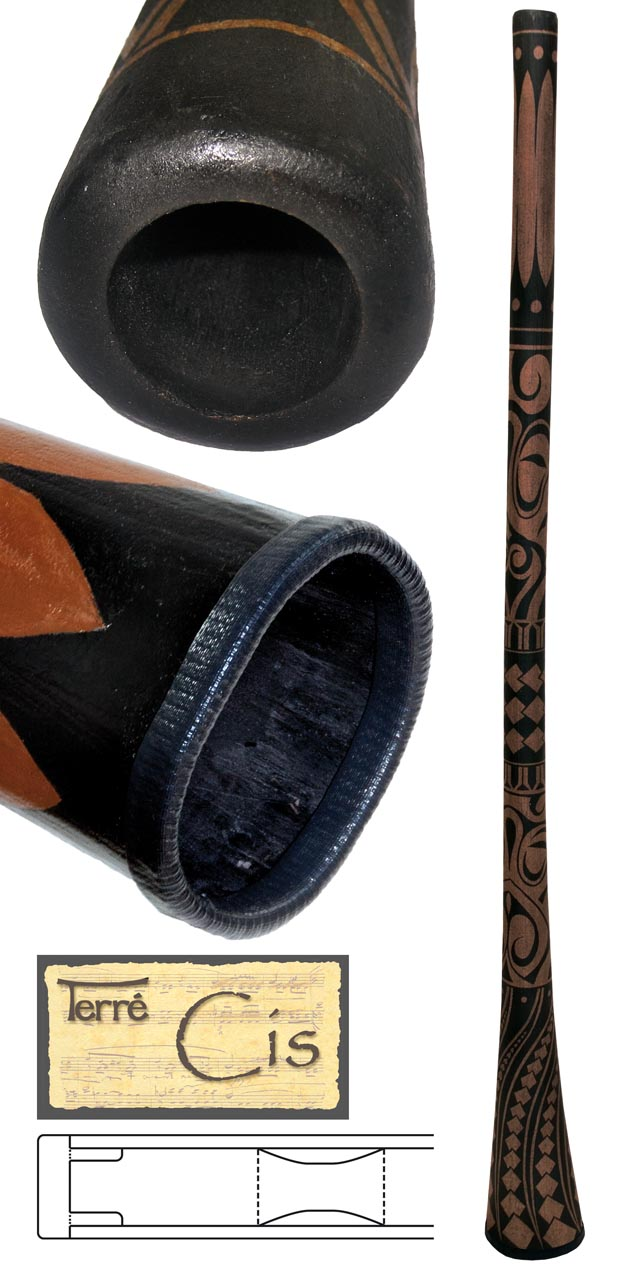 Terre Didgeridoo Teak Cis