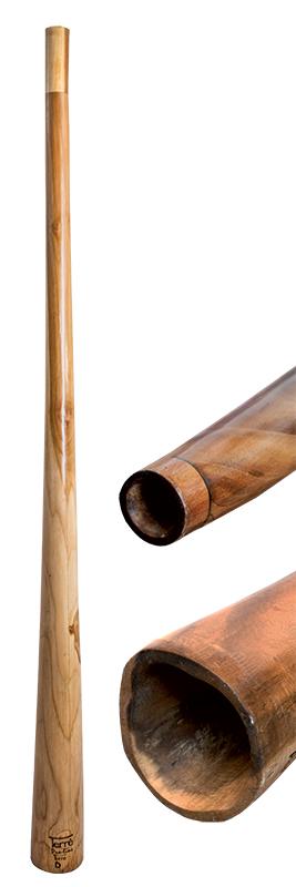 Terre Didgeridoo Proline sliced