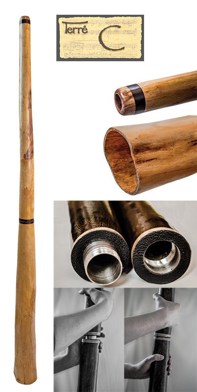 Terre Didgeridoo Proline Hibiskus C