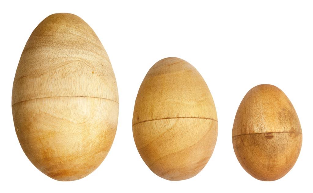 Terre Eiershaker Holz M