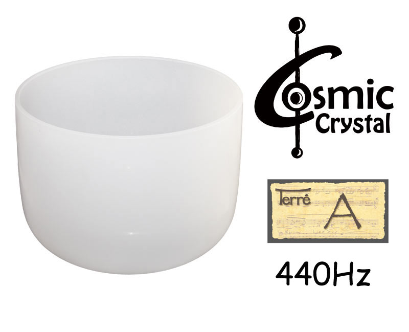Terre Crystalbowl 13 A3, 440Hz