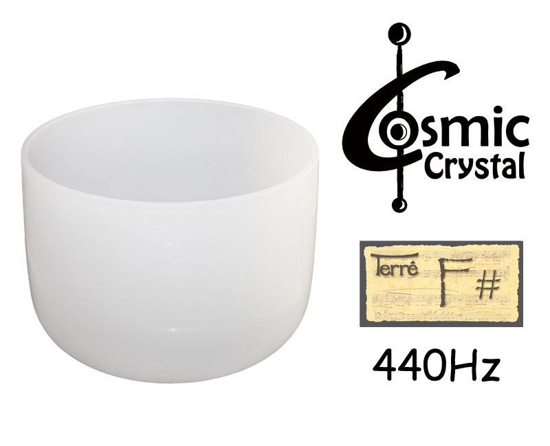 Terre Crystalbowl 10 Fis4, 440Hz